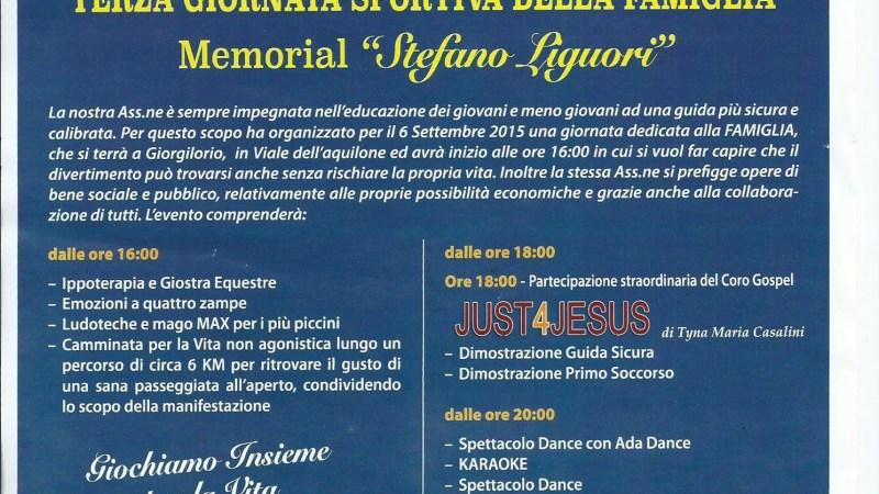 Domenica a Giorgilorio Memorial  STEFANO LIGUORI
