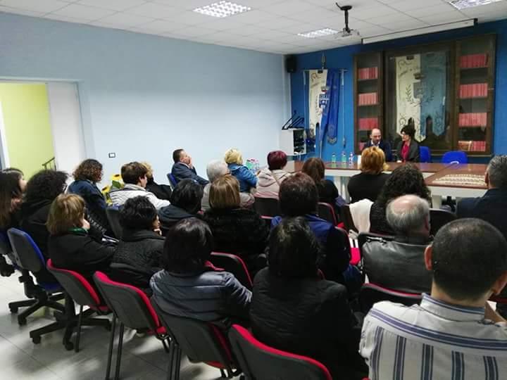 """A Colli a Volturno ( IS ) la presentazione del libro """"sulle orme della sclerosi multipla"""""""