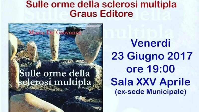 A Cellino San Marco oggi la presentazione di sulle orme della sclerosi multipla, il libro.