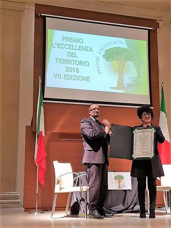 Sunrise di Borgagne riceve premio Eccellenza del Territorio