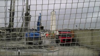 inquinamento falda san basilio - cantiere tap