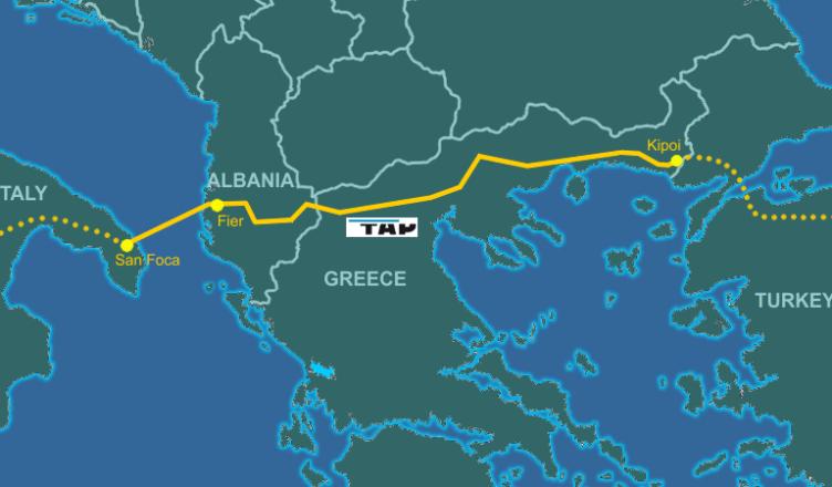 Trans Adriatic Pipeline - gasdotto tap