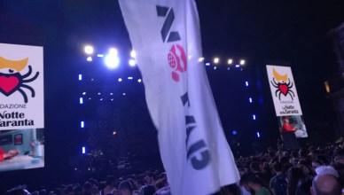 bandiera no tap notte della taranta - censura