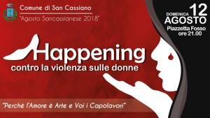 happening - contro violenza sulla donna