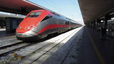 Frecciarossa a Lecce - Etr 500
