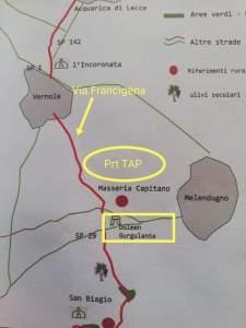 Via Francigena - Interferenza TAP