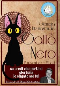 gatto nero day 2018