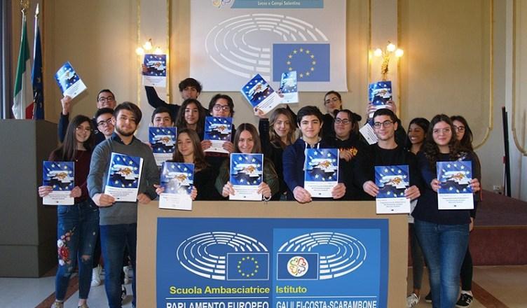 Galilei-Costa-Scarambone Scuola Ambasciatrice del Parlamento Europeo