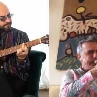 "Giuliano Sangiorgi emoziona interpretando ""Arcobaleno"" su Instagram"