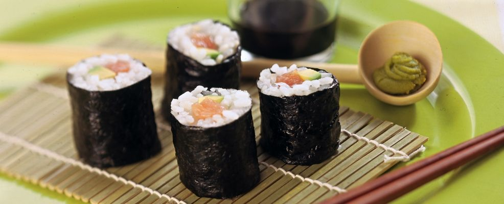 Sushi al salmone affumicato  SalePepe