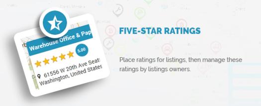 Five Star ratings