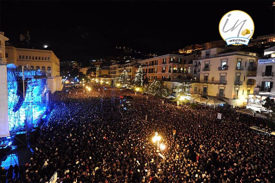 Salerno Luci d'Artista - Capodanno in Piazza