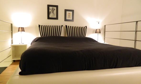 salerno flat casa vacanze duomo salerno centro storico - camera da letto