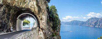 tour in amalfi coast in minivan
