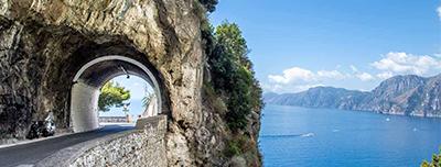 tour in amalfi coast in minivan