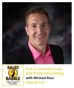 how to generate leads with relationship selling