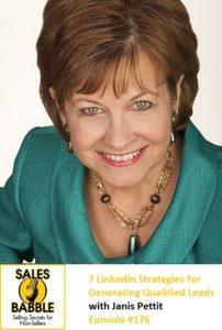 Janis Pettit Sales Babble