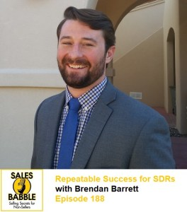 Brendan Barrett Sales Babble