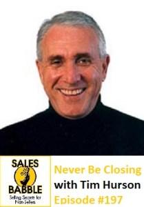 Tim Hurson Sales Babble Close