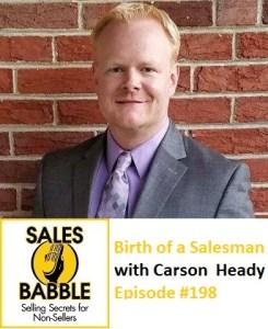 Carson Heady Sales Babble