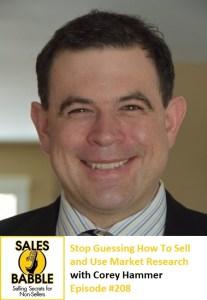 Corey Hammer Sales Babble