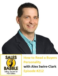 Sales Babble - how to read a buyers personality
