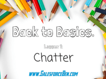 Back to Basics: Chatter