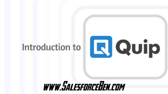 Salesforce Quip