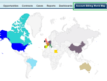 Build a World Map Visualforce Page Without Writing any Code!