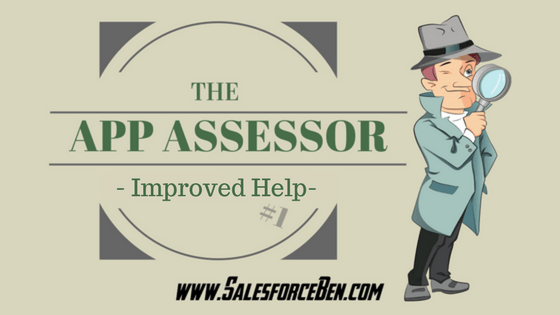 The App Assessor - Improved Help