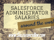 Salesforce Administrator Salaries – Around The World (Infographic)