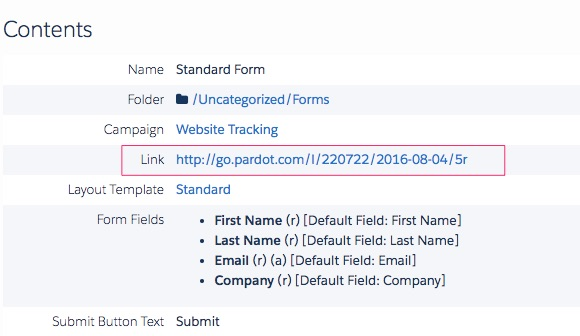 This Is The Default For All Accounts Unless A Different Tracker Domain Has  Been Specified. This Is The View From The U0027Domain Managementu0027 Page Inside  Pardot: