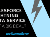 Salesforce Lightning Data Service – Is it a Big Deal?