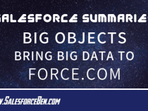 Salesforce Summary – BigObjects — Bring Big Data to Force.com