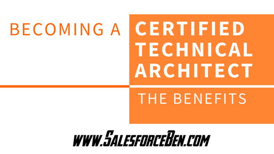 Becoming a Certified Technical Architect: The Benefits