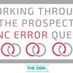 Working through the Pardot-Salesforce Prospect Sync Error Queue