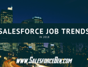 Salesforce Job Trends in 2018