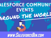 Salesforce Community Events Around the World