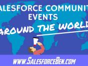 Salesforce Community Events Around the World