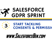Salesforce GDPR Sprint (Part 3): Start Tackling Consents and Permissions