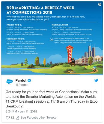 Salesforce Connections Pardot
