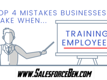 The Top Four Mistakes Businesses Make when Training Employees