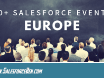 30+ Salesforce Events in 2019 – Europe [Infographic]