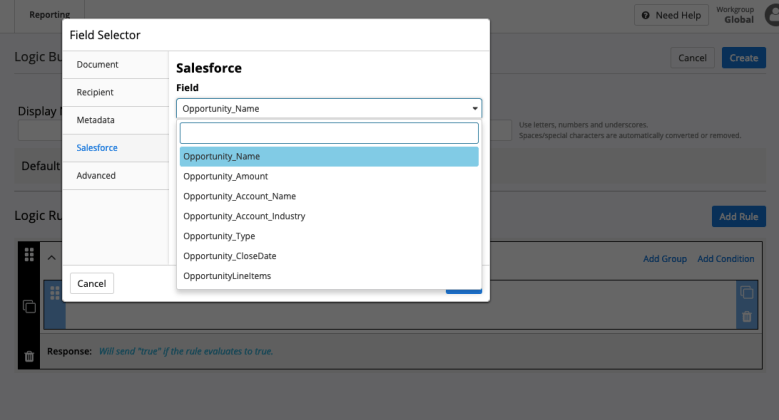 Conga Collaborate - Dynamic Content Builder
