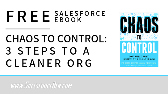 Free Salesforce Book - 3 Steps to a Cleaner Org