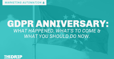 GDPR Anniversary: What Happened, What's to Come, and What you Should do Now