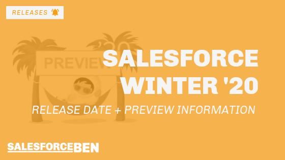 salesforce winter 20 release