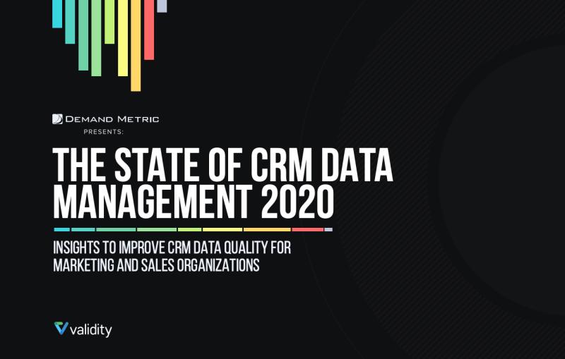 """, L&rsquo;état des données CRM en 2020: nos points forts de plus de 300 organisations<span class=""""wtr-time-wrap after-title""""><span class=""""wtr-time-number"""">11</span> minutes de lecture</span>"""