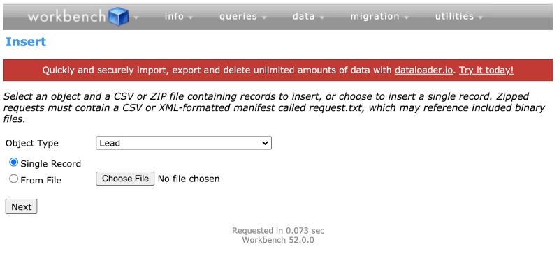""", Salesforce Workbench: 6cas d&rsquo;utilisation intéressants pour les administrateurs<span class=""""wtr-time-wrap after-title""""><span class=""""wtr-time-number"""">4</span> minutes de lecture</span>"""