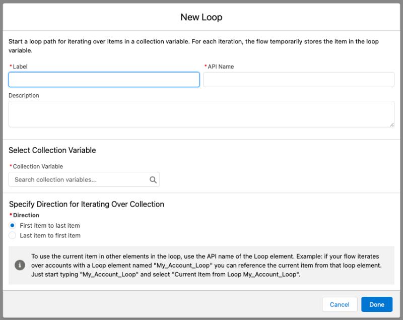 """, Boucles de flux Salesforce – Meilleures pratiques et exemples<span class=""""wtr-time-wrap after-title""""><span class=""""wtr-time-number"""">8</span> minutes de lecture</span>"""